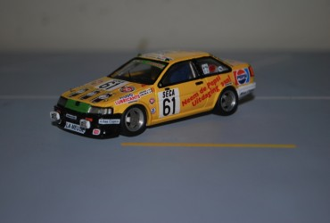 TCL Corolla Coupe #61 Spa84