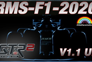 GTR2-Mod: RMS-F1-2020 V1.1 UP
