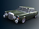 Mercedes 300SEL 6.3 AMG Renderscene