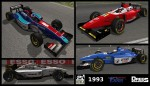 1993 F1 Season Carpack for F3000