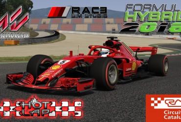 Formula Hybrid 2018 * Spanish GP * Hotlap + setup [1:17:895]