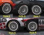 Neu Radsätze für den Audi TT-R Mod von GMT