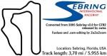 Sebring 2005 for GTR Evolution