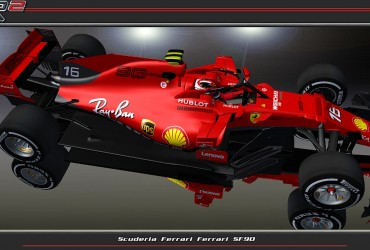 Ferrari SF90 with 90YEARS-Skin